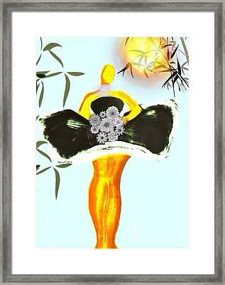 Baldchicspring Framed Print by Romaine Head
