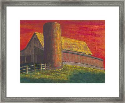 Balducci Sunset Framed Print by Garry McMichael