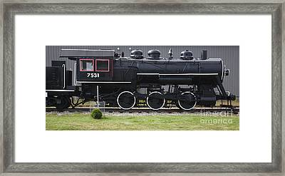 Baldwin 0-6-0 Steam Locomotive - Gorham New Hampshire Framed Print