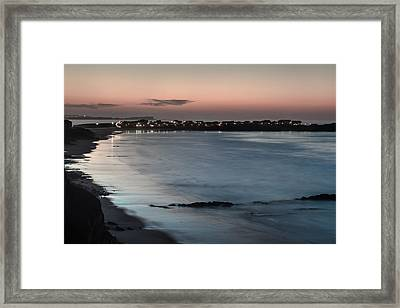 Framed Print featuring the photograph Baleal by Edgar Laureano