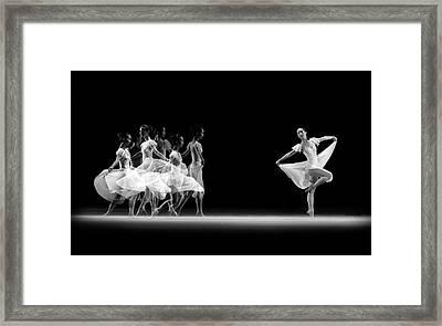 Balerina Movement Framed Print