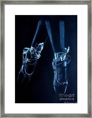 Balerinas Framed Print by Anna Androsovski