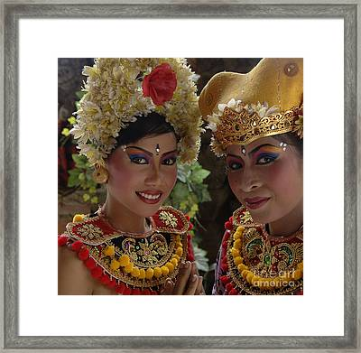 Bali Beauties Framed Print by Bob Christopher