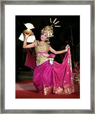 Bali Dancer Framed Print by Jack Edson Adams