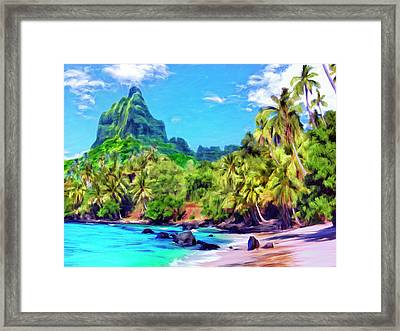 Bali Hai Framed Print by Dominic Piperata