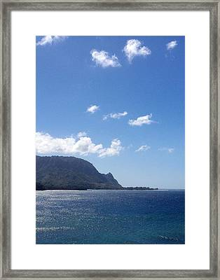 Bali Hai II Framed Print