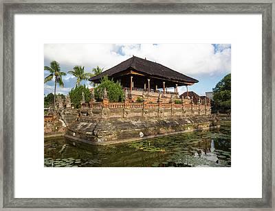 Bali, Indonesia The Bale Kambang Framed Print by Charles O. Cecil