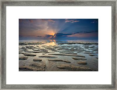 Bali Sunrise Framed Print