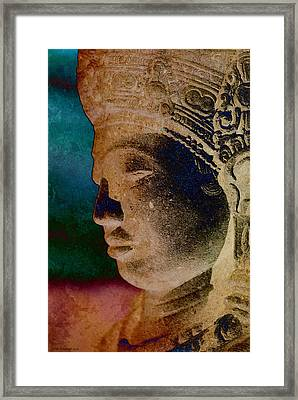 Balinese 3 Framed Print by WB Johnston