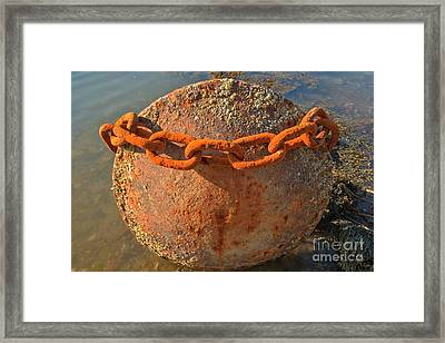 Ball And Chain Framed Print by Adam Jewell