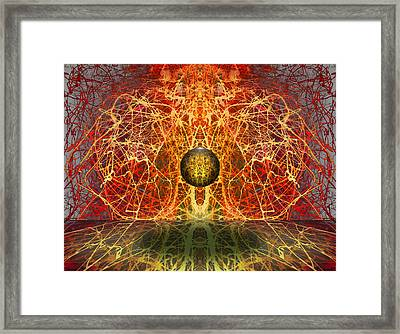 Ball And Strings Framed Print