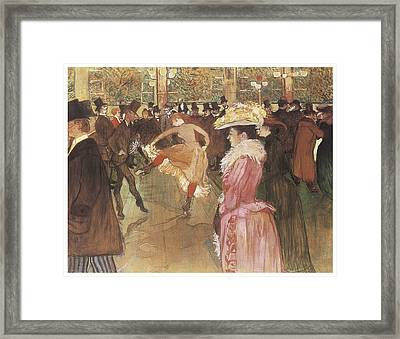 Ball At The Moulin Rouge Painting by Henri De ToulouseLautrec
