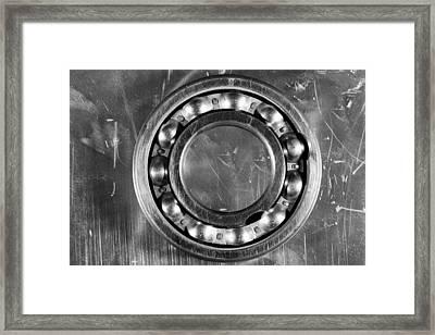 Ball Bearing Still-life Framed Print