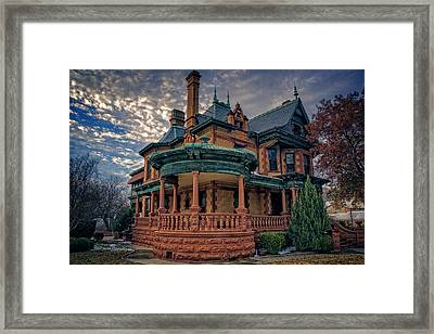 Ball Eddleman Mcfarland House Framed Print