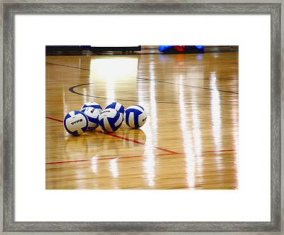 Ball Gang Framed Print
