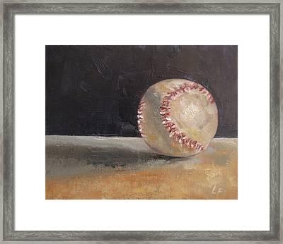 Ball Number 2 Framed Print