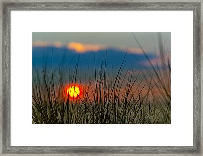 Ball Of Fire Framed Print by Sebastian Musial