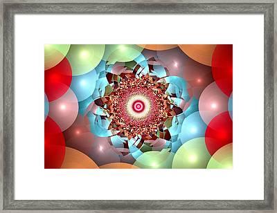 Ball Pit Universe Framed Print