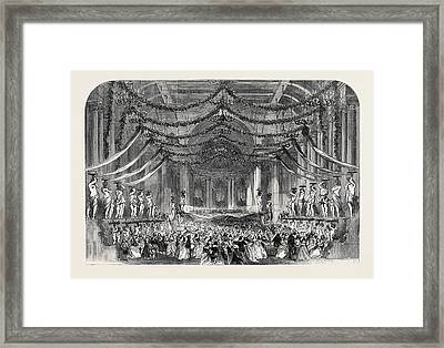 Ball Room Scene From Don Giovanni At Her Majestys Theatre Framed Print
