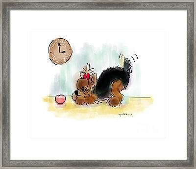 Ball Time Framed Print by Catia Cho
