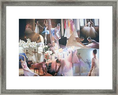 Ballarina Beauty - Sold Framed Print by Judith Espinoza