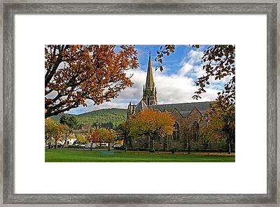 Ballater Church Framed Print by John Topman