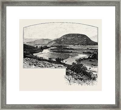 Ballater, Uk. Ballater Scottish Gaelic Bealadair Is A Burgh Framed Print by Scottish School