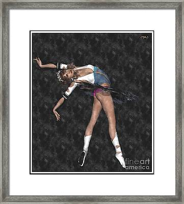 Ballerina B1 Framed Print by Pemaro