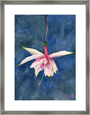 Ballerina Flower Framed Print