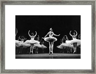 Ballerina Margot Fonteyn Framed Print by Eliot Elisofon