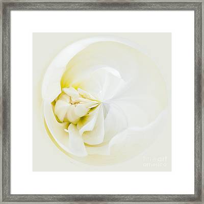 Ballerina Moon Framed Print