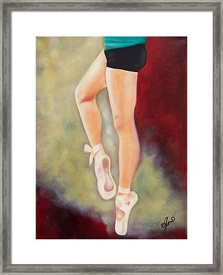 Ballerina Moves 2 Framed Print
