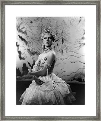 Ballerina Framed Print by Retro Images Archive