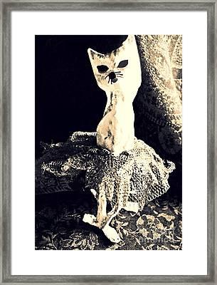 Ballerina Framed Print by Sarah Loft