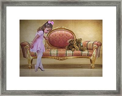 Ballerina Framed Print by Sharon Lisa Clarke