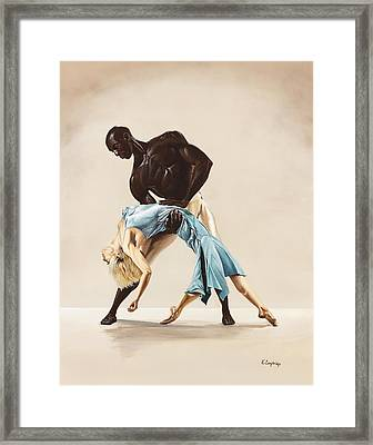 Ballet 1  Framed Print by Karen  Loughridge KLArt