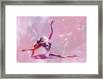 Ballet Art Framed Print by Steve K