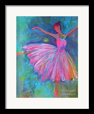 Art Of Dancers Framed Prints