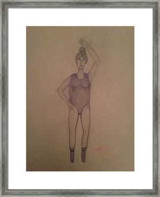 Ballet Boxes Framed Print by Ellie Philpotts