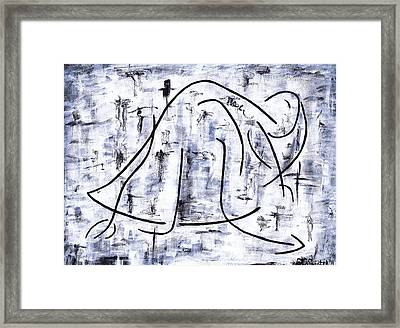 Ballet Dancer Framed Print by Kamil Swiatek