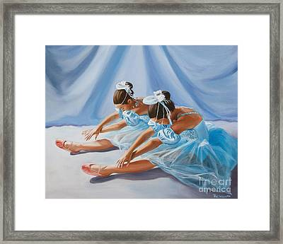 Ballet Dancers Framed Print by Paul Walsh