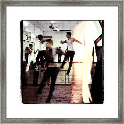 Ballet Doble Framed Print