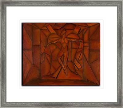 Ballet I Framed Print by Coqle Aragrev