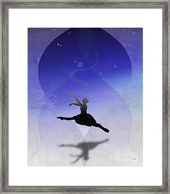 Ballet In Solitude  Framed Print by Bedros Awak
