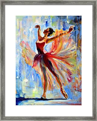 Ballet Pa Framed Print by Roman Fedosenko