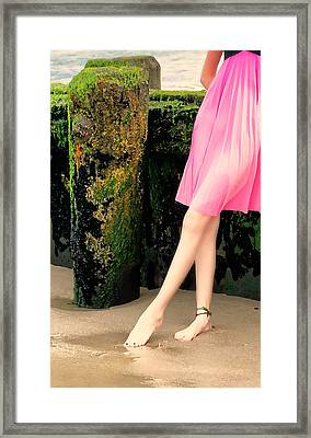 Ballet Point Framed Print by Diana Angstadt