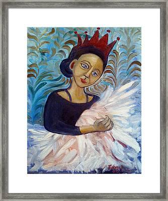 Ballet Queen Framed Print