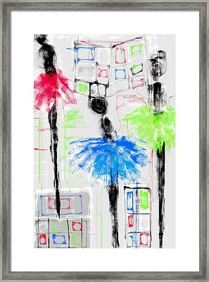 Ballet School Framed Print by Rc Rcd
