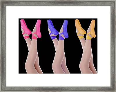 Ballet Shoes Framed Print by Stephen Norris