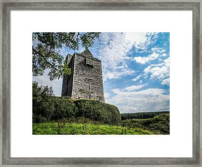 Ballinalacken Castle In Ireland's County Clare Framed Print